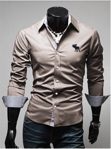 Blusa Abercrombie Masculina Branca